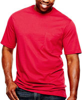 JCPenney THE FOUNDRY SUPPLY CO. The Foundry Big & Tall Supply Co. Solid Pocket Tee
