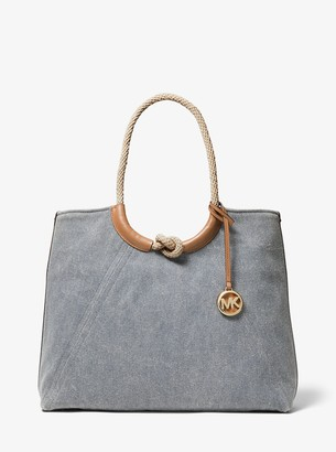 MICHAEL Michael Kors Isla Large Canvas Tote Bag