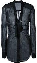 Marcelo Burlon County of Milan 'Solsire' shirt - women - Polyamide/Viscose - M