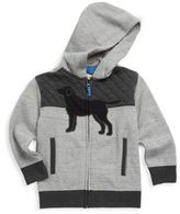 Hatley Little Boy's & Boy's Quilted Lab Hoodie