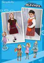 Simplicity Sewing Pattern 2574 Toddler Dresses
