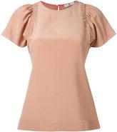 Paul Smith pleated sleeve blouse - women - Silk - 38