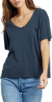 Rails Libby Pocket Cotton Blend T-Shirt