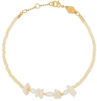 Anni Lu 18kt Yellow Gold Pearl Bracelet