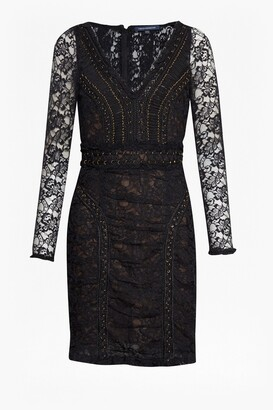 French Connection Muriel Lace Bodycon Dress