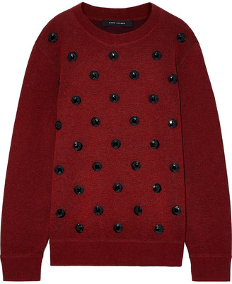 Marc Jacobs Crystal-embellished Knitted Sweater
