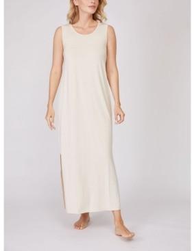 Pure Fiber Pleated Back Drape Dress
