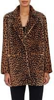 Frame Women's Cheetah-Print Fur Jacket