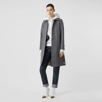 Burberry Cotton Gabardine Belted Car Coat