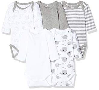 Name It NOS Baby 13178112 Shaping Bodysuit,(Size: 56) (Pack of 5)