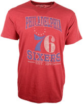 '47 Men's Short-Sleeve Philadelphia 76ers Wordmark Scrum T-Shirt