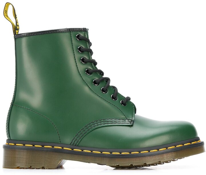 Green Lace Up Boots | Shop the world's