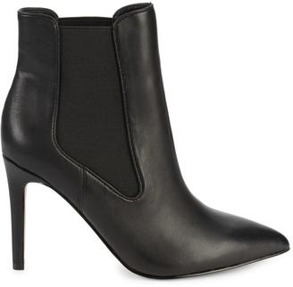 Saks Fifth Avenue Harriette Point-Toe Leather Booties
