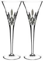 Waterford Lismore Pops Flute Glasses (Set of 2)