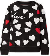 Chinti and Parker Confetti Heart Knitted Sweater - Black