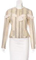 Christian Dior Snakeskin Embellished Jacket