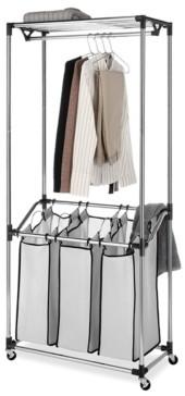 Whitmor Chrome Laundry Center & Sorter