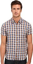 Lucky Brand Men's Short-Sleeved One Pocket Flap Shirt in
