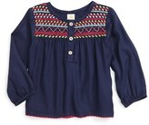 Infant Girl's Tucker + Tate Embroidered Tunic