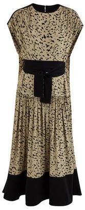 Proenza Schouler Long printed dress