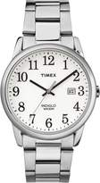 Timex Men's TW2R23300GP Fashion Classics Dial and Silver Stainless Steel Bracelet Watch