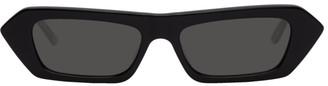 Gucci Black Futuristic Sunglasses