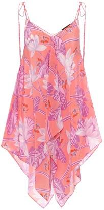 Loewe Paulas Ibiza printed silk top