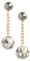 Tory Burch Women's Linear Drop Earrings