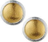 Gurhan Amulet Round Button Earrings