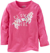 Osh Kosh FLOWER GIRL Tee