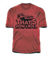 """Jeep That's How I Roll"""" Tee (M)"""