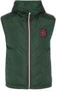 Gucci Hooded Quilted Down Gilet