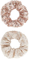 Monsoon 2X Sequin Hair Scrunchies