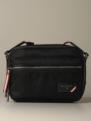 Bally Shoulder Bag Figj Shoulder Bag In Nylon With Trainspotting Shoulder Strap