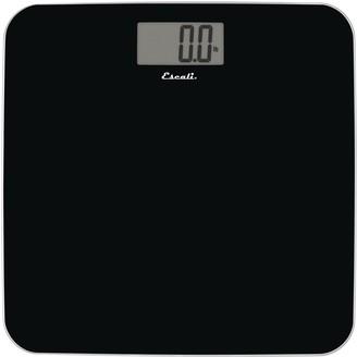 Escali Slim Glass Body Scale