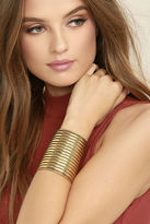 LuLu*s A Place In This World Gold Cuff Bracelet