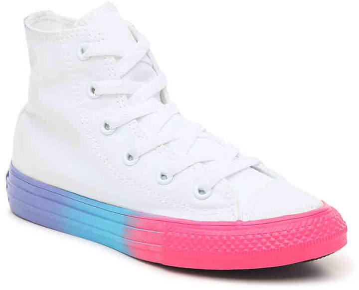 the best attitude d769a 39a8e Girls Converse Sneakers High Top - ShopStyle