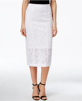 Alfani PRIMA Lace Pencil Skirt, Only at Macy's