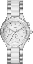DKNY NY2497 Chambers stainless steel crystal watch