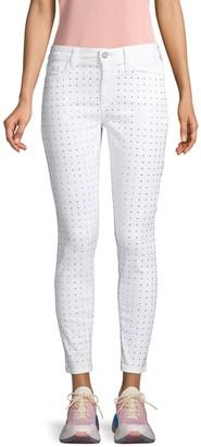 Siwy Lauren Rhinestone Embellished Skinny Jeans