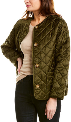 Burberry Logo Quilted Jacket