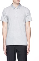 rag & bone Stripe cotton jersey polo shirt