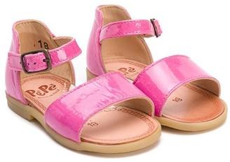 Pépé Patent Open Toe Sandals
