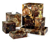 Mike and Ally Mike & Ally Petrified Wood Tissue Box Cover