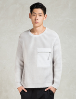 Blood Brother Grey Capture Knit