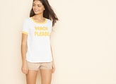 Garage Beach Please Ringer Tee