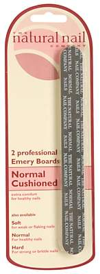 Jessica Normal Cushioned Emery Board, Pack of 2