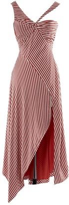 Jonathan Simkhai Red Viscose Dresses