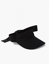Y-3 Black Nylon Visor