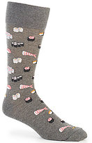 Hot Sox Sushi Repeating Print Crew Socks